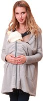 Sweet Mommy Hooded Maternity and Babywearing Cardigan GRF