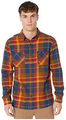 Levi's Tusky Flannel Shirt (Buckthorn Brown) Men's Clothing