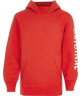 River Island Boys red 'original' print hoodie