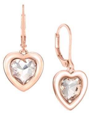 Trifari Heart Drop Earrings