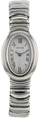 Cartier 1990 pre-owned Baignoire wrist watch