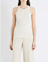 Dion Lee Military knitted top