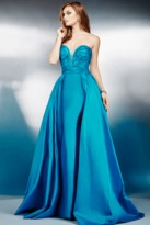 Jovani Sweetheart Neck Strapless Ballgown Dress 36163