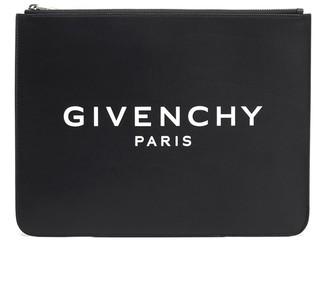 Givenchy Paris Large Zipped Pouch