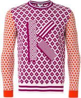 Kenzo Fair Isle K sweater - men - Cotton/Wool - S