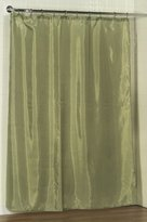 Carnation Home Fashions Fabric Shower Curtain Liner, 70-Inch by 72-Inch, Sage