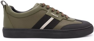 Bally Low-Top Side Stripe Sneakers