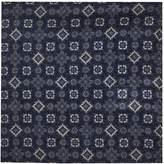 REISS Samuel - Wool Pocket Square in Airforce Blue