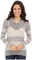 Mavi Jeans Cowel Neck Color Blocking Sweater