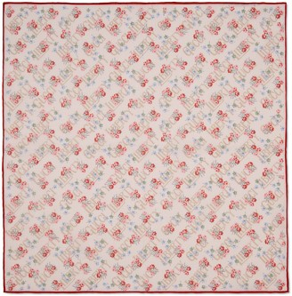 Gucci Liberty floral cotton pocket square