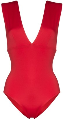 ODYSSEE V-neck bandage swimsuit