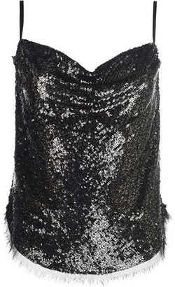 KENDALL + KYLIE Sequin Cami Top