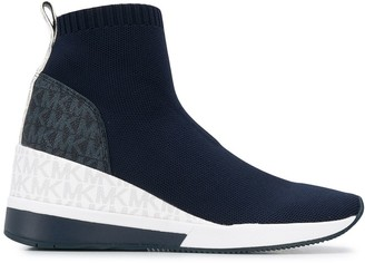 MICHAEL Michael Kors Skyler sock boot trainer