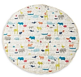 Pehr Noah's Ark Round Playmat with Fringe Detail