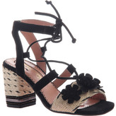 Poetic Licence Women's Entwined Ghillie Lace Sandal