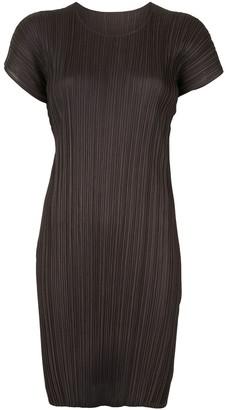 Pleats Please Issey Miyake Mellow Pleats tunic dress