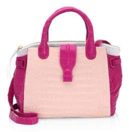 Nancy Gonzalez Cristina Leather Satchel