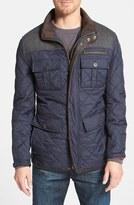 Vince Camuto Men's Diamond Quilted Full Zip Jacket