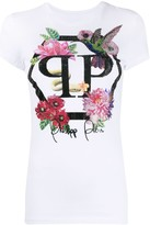Philipp Plein crew neck crystal-embellished T-shirt