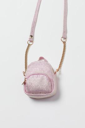 H&M Glittery Mini Bag - Pink