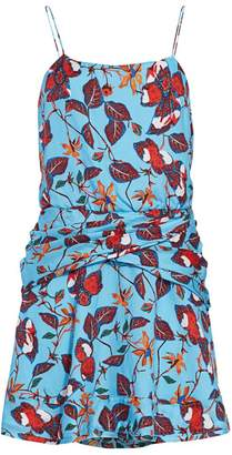 Derek Lam 10 Crosby Floral Camisole Flounce Dress