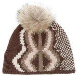 Bogner Fur Trimmed Wool Beanie