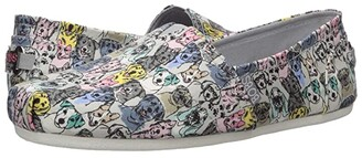 BOBS from SKECHERS Bobs Plush - Pastel Pups (Gray Multi) Women's Shoes