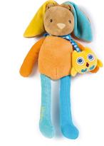 Kaloo Colors Music Baby Doudou Rabbit Plush Toy