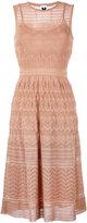 M Missoni loose knit detail dress - women - Cotton/Polyamide/Polyester/Viscose - 42