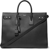 Saint Laurent Sac De Jour Large Full-Grain Leather Tote Bag