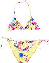 Mc2 Saint Barth Kids - teen Holly bikini - kids - Spandex/Elastane/Polyimide - 14 yrs