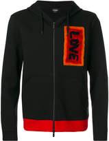 Fendi appliqué zipped jacket