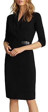 Reiss Luisa Knitted Bodycon Dress