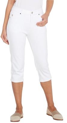 Belle By Kim Gravel Belle by Kim Gravel Flexibelle Capri Jeans