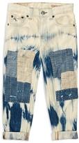 Ralph Lauren Girls' Patchwork Jeans - Little Kid