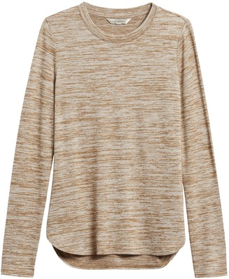 Banana Republic Petite Luxespun Long-Sleeve T-Shirt