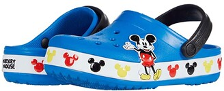 Crocs Fun Lab Disney Mickey Mousetm Band Clog (Toddler/Little Kid) (Bright Cobalt) Boy's Shoes
