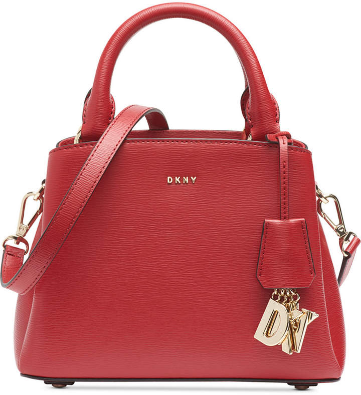 DKNY Paige Small Leather Satchel