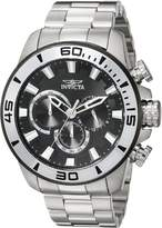 Invicta Men's Pro Diver Steel Bracelet & Case Quartz Dial Watch 22585