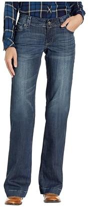 Stetson 214 Fit Trousers (Blue) Women's Casual Pants