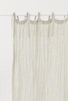 H&M 2-pack Linen Curtain Panels - Beige
