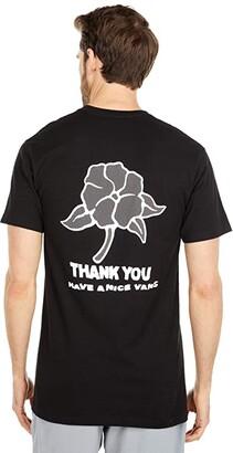 Vans Thank You Short Sleeve Tee (Black) Men's T Shirt