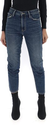 Current/Elliott Skinny Faded Jeans