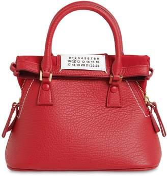 Maison Margiela Micro 5ac Leather Top Handle Bag