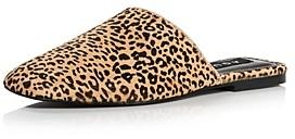 Thumbnail for your product : Aqua Women's Bae Leopard Print Calf Hair Mules - 100% Exclusive