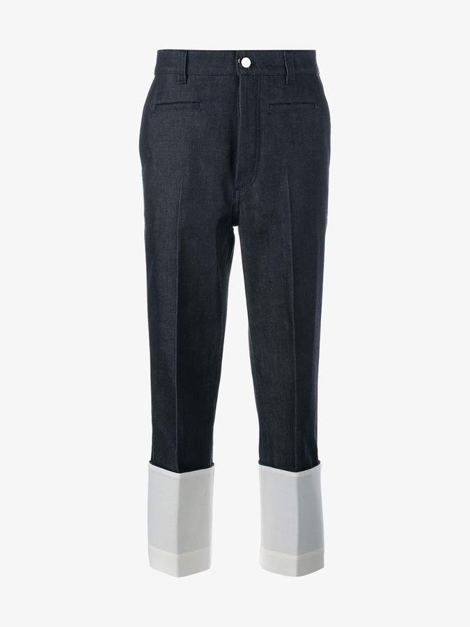 Loewe cropped jeans