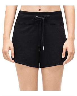 Calvin Klein Curved Hem Short W/ Logo Tape