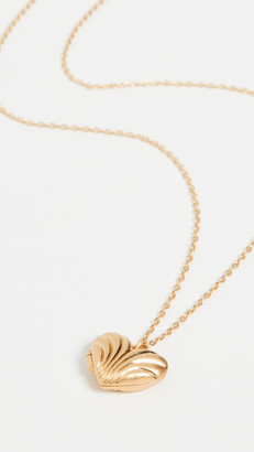 Madewell Moulded Heart Locket Necklace