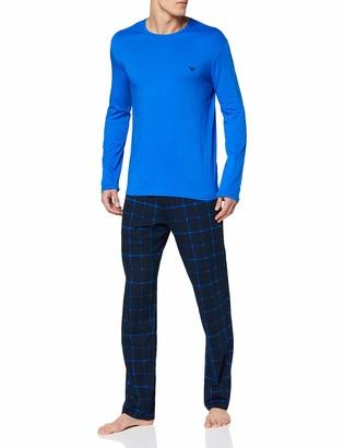 Emporio Armani Men's Loungewear - Patter Mix Pyjamas Set