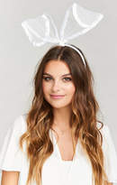 MUMU Bridal Bunny Ear Headband